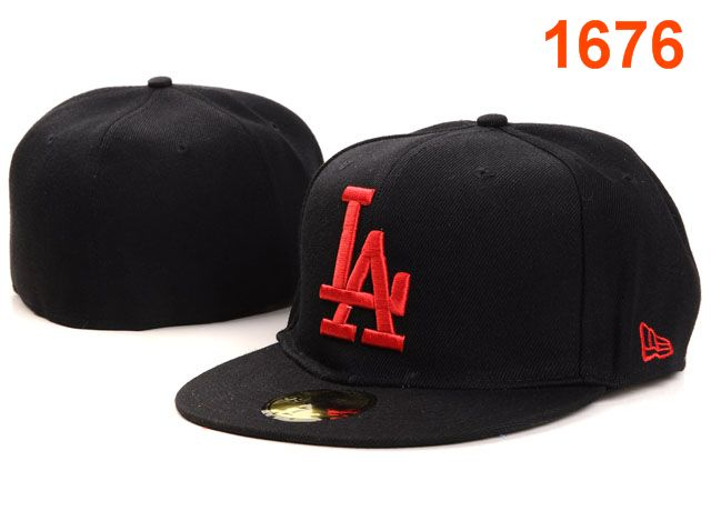 Los Angeles Dodgers MLB Fitted Hat PT08